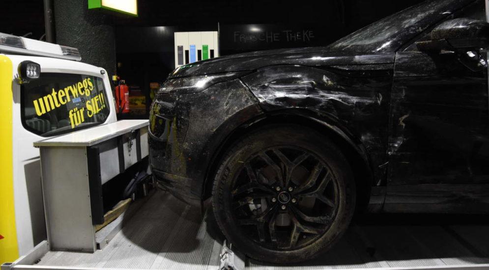 Unfall A1 Wil SG: Ein Verletzter, Fahrer flüchtet