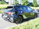 A1, Wil SG: Unfall zwischen Lieferwagen und PW