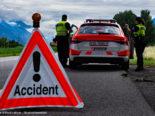 Tödlicher Unfall Grimisuat VS: Motorradfahrer (25) im Spital verstorben