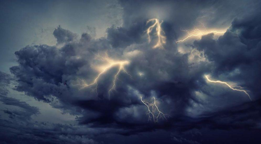 unwetter, regen, gewitter