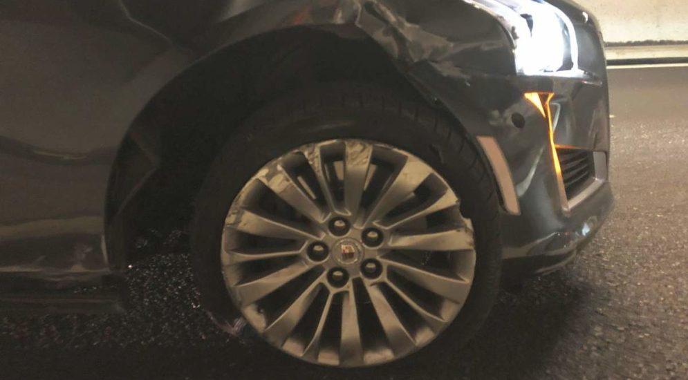 A3, Obstalden GL: Bei Unfall in Tunnelwand geprallt