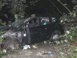 Unfall Gempen SO: Rehherde ausgewichen und mehrfach überschlagen