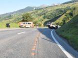 Scuol GR: Lenker streitet mit Beifahrerin und baut Unfall