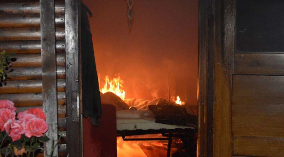 Grenchen SO: Gartenhaus in Gartenanlage gerät in Brand