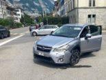 Glarus: Lenker übersieht vortrittberechtigtes Auto bei Unfall