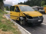 Mümliswil SO: VW Caddy-Lenker bei Unfall mit Baustellensignalisation kollidiert