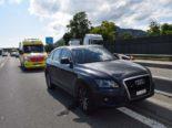 Oensingen SO: Unfall mit drei Fahrzeugen auf der Autobahn A1