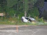 Schaffhausen SH: Auf Flucht vor Polizei zwei Unfälle verursacht