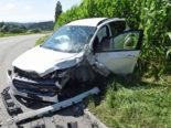 Roggliswil LU: Fahrzeug kollidiert bei Unfall mit Lastwagen