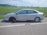 Sirnach TG: Unfall auf der Autobahn A1