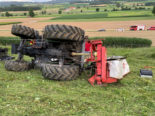 Weingarten-Kalthäusern: Traktorfahrer bei Mäharbeiten schwer verunglückt