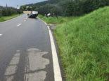 Mammern TG: Lenker am Steuer eingenickt und bei Unfall überschlagen