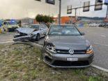 Unfall Oftringen AG: VW-Fahrer (30) missachtet Rotlicht und knallt in Skoda