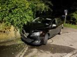 Unfall Seengen AG: Stark alkoholisiert gegen Stützmauer geprallt