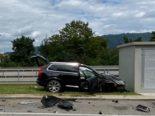 Unfall Mumpf AG: Volvo-Lenker (31) verliert auf der A3 die Kontrolle
