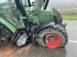 Zeiningen AG: Traktorfahrer (24) gerät bei Unfall in Entwässerungsgraben