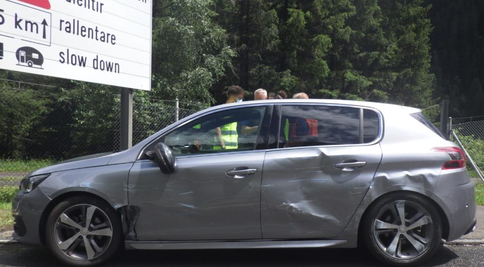 Göschenen UR: Bei Unfall mit Sattelmotorfahrzeug kollidiert