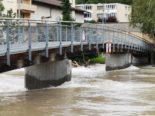 Kanton Aargau: Hochwasserwarnung gilt weiterhin