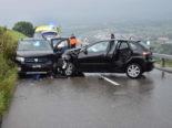 Schwerer Unfall in Altstätten fordert mehrere Verletzte - Zwei Rega-Helikopter im Einsatz