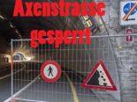 Sisikon: Axenstrasse bis auf Weiteres gesperrt