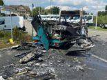 Rothenburg LU: Zwei Personen bei Brand in Imbisswagen erheblich bzw lebensbedrohlich verletzt