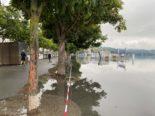 Hochwasser Luzern LU: Aktuelle Lage am Vierwaldstättersee
