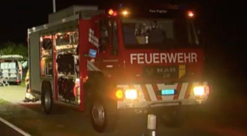 Romanshorn TG: Scheune gerät in Brand
