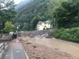 Kanton Schwyz: Zahlreiche Strassensperrungen nach heftigem Unwetter