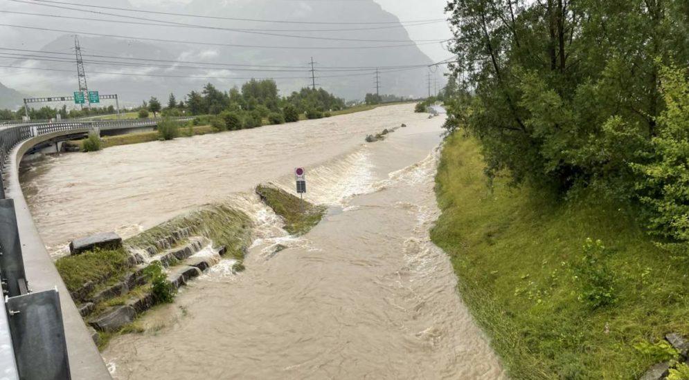 Unwetter im Kanton Uri: Verkehrsüberlastungen wegen Autobahnsperrung