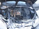 Heerbrugg SG: Junglenkerin stellt Rauchentwicklung im Auto fest
