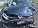 Andermatt UR: Unfall zweier Personenwagen bei Baustelle