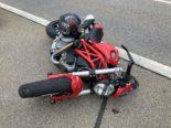 Bilten GL - Bei Unfall gegen Brückengeländer geprallt