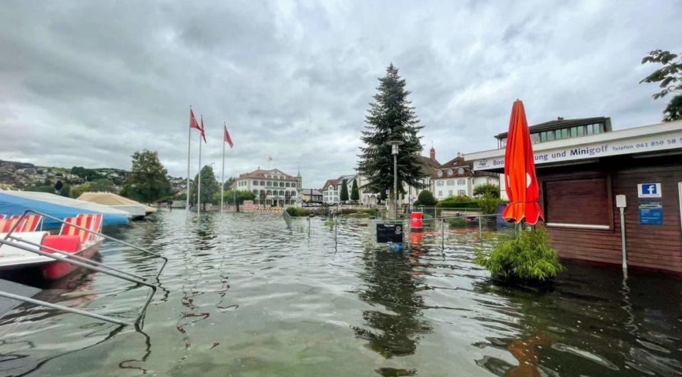 Kanton Schwyz: Schifffahrt auf dem Vierwaltstättersee untersagt