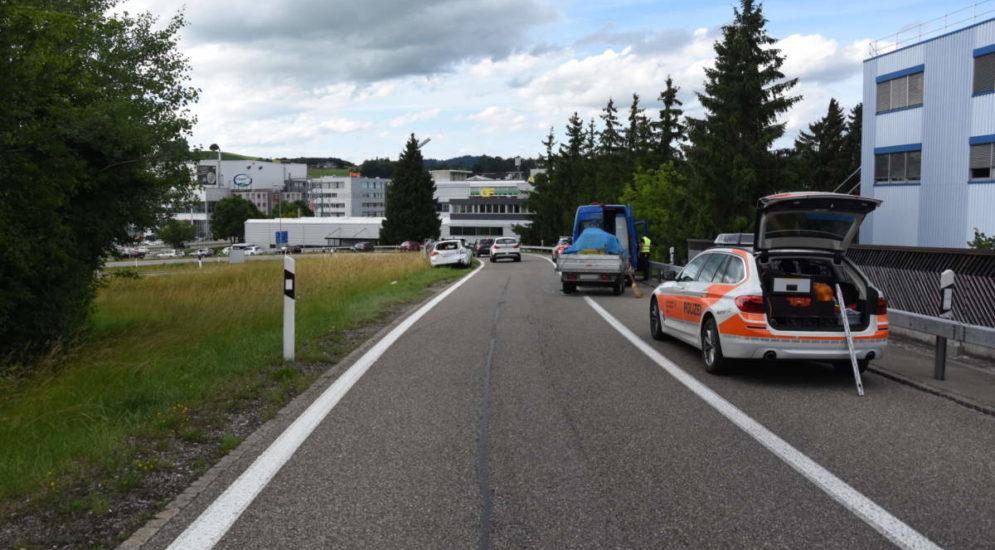 Oberbüren SG - Alkoholisiert Unfall auf der A1 gebaut