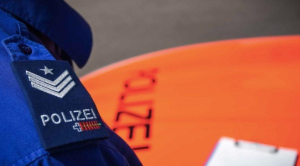 St. Gallen: Zwei Personen mit Pistolen von Polizei angehalten
