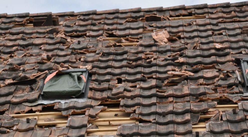 Kanton Luzern LU: Rund 12'000 Schadenmeldungen wegen Unwetter