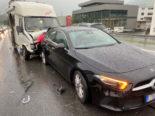 Alpnach Dorf OW - Lenker bei Unfall verletzt