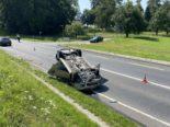Belfaux FR: Unfall beim Abschleppen von Auto