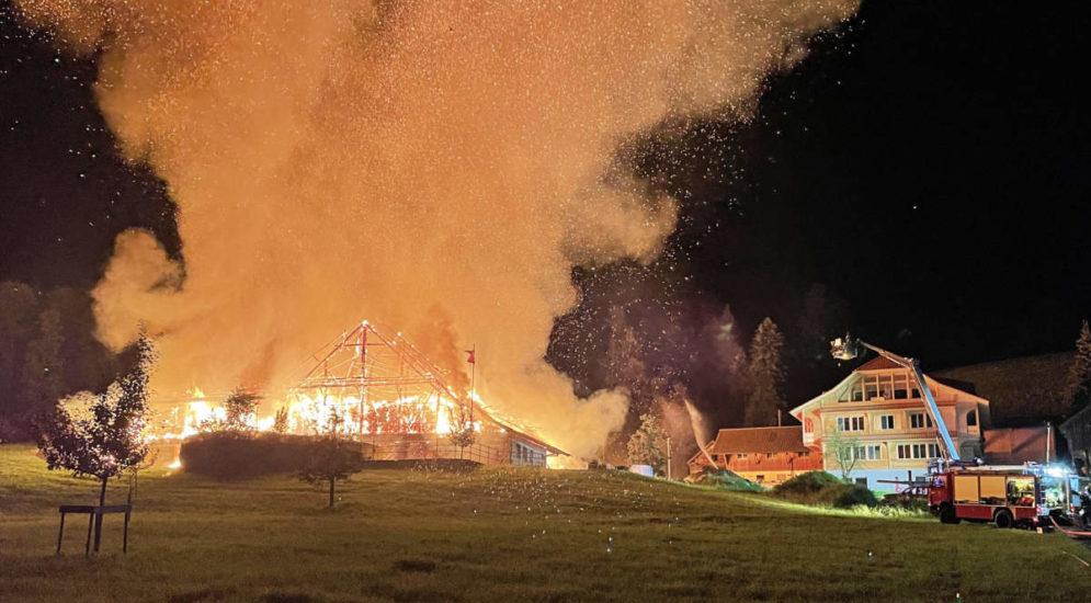 Wolhusen LU: Brandursache für Scheunenbrand geklärt
