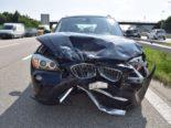 Unfall A1 Oensingen SO: BMW fährt ins Stauende - ein Verletzter