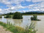 Unwetter Kanton Bern BE: Bielersee mit neuem Rekordpegel