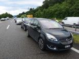 Rorschacherberg SG: Unfall auf der Autobahn A1