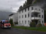 Untervaz GR: Feuer in Mehrfamilienhaus