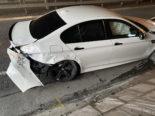 Kölliken AG: Neulenker schrottet bei Unfall seinen BMW M5
