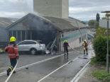 Ermatingen: Mann nach Brand verletzt ins Spital geflogen