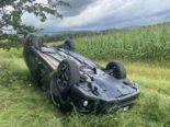 Brugg: Am Steuer eingeschlafen und heftigen Unfall verursacht