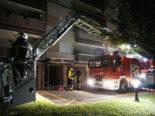 Brand in Marly FR - 29 Personen evakuiert