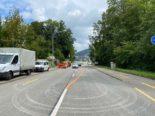 St.Gallen SG - Update zur Strassensperrung Bereich Fürstenlandbrücke