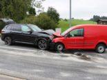Meistersrüte AI - Vollständig ineinander verkeilten Fahrzeuge bei Unfall