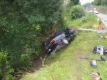 Porrentruy JU: Autolenker bei Unfall schwer verletzt